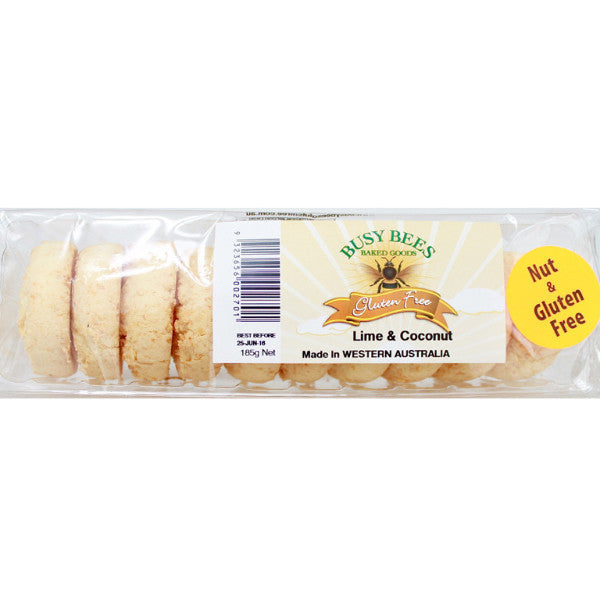 Lime & Coconut Biscuits (185g)