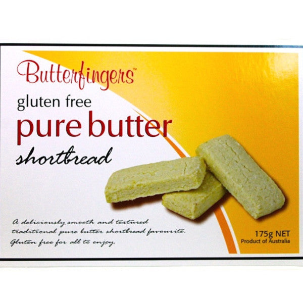 GF Pure Butter Shortbread (175g)