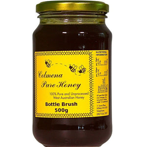 Colmena Pure Honey Bottle Brush (500g)
