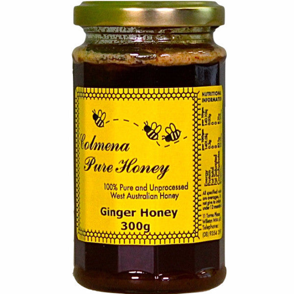 Colmena Pure Honey Ginger (300g)