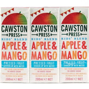 Kids Apple & Mango Juice (3 x 200ml)
