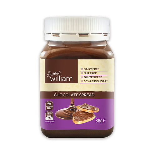 Chocolate Spread 60% Less Sugar (385g)