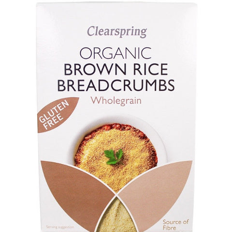 Organic Brown Rice Breadcrumbs (250g)