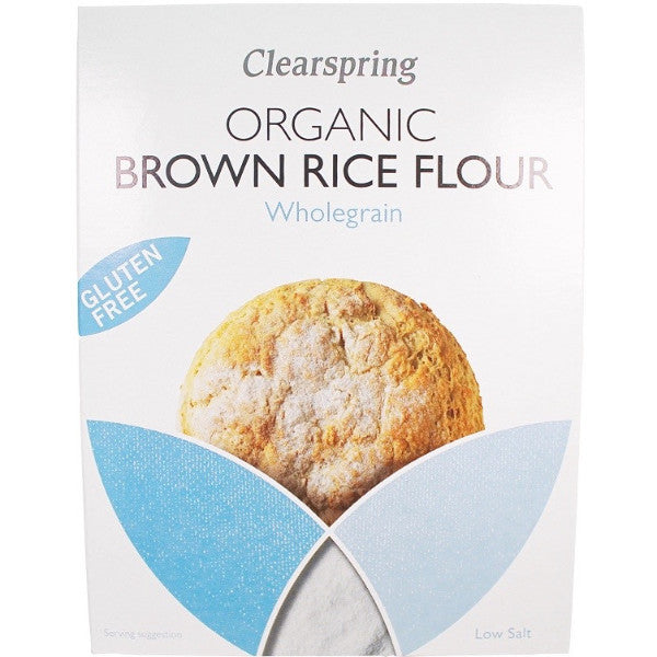 Organic Brown Rice Flour (375g)