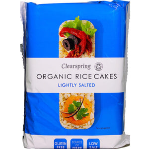 Organic Rice Cakes - Lightly Salted (100g)