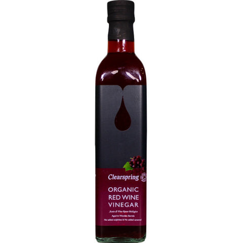 Organic Red Wine Vinegar (500ml)