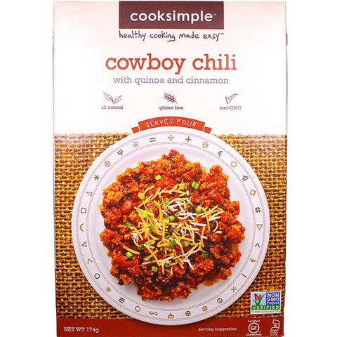 Cooksimple Cowboy Chili (174g)