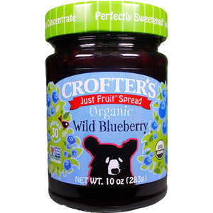 Organic Wild Blueberry Just Fruit Spread (283g)