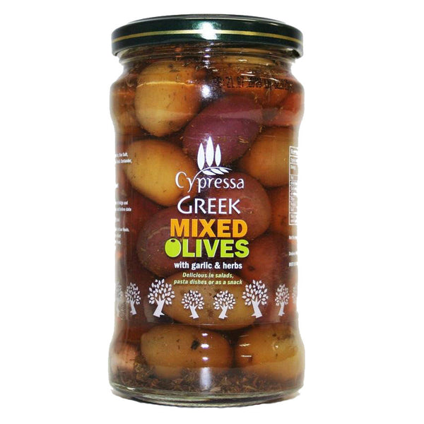 Cypressa Mixed Olives with Herbs (315g)