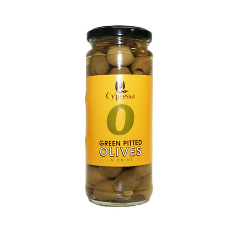 Cypressa Pitted Green Olives (340g)
