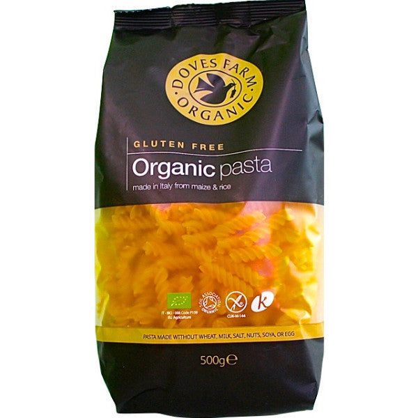 Doves Farm Organic Maize & Rice Fusilli 500g