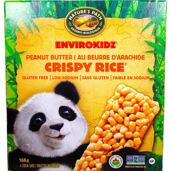 Panda Peanut Butter Crispy Rice Bars (6 packs)