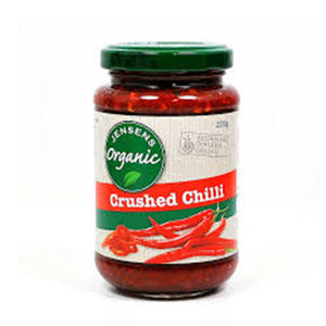 Organic Crushed Chilli (220g)