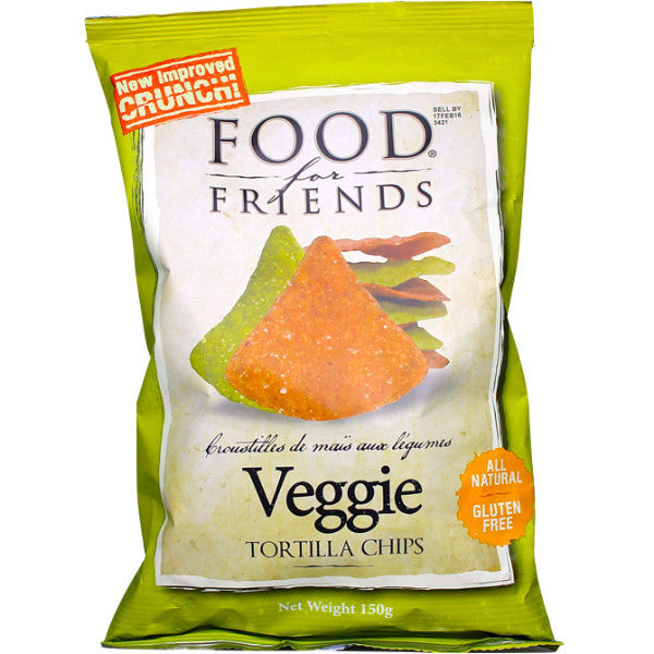 Veggie Tortilla Chips (150g)