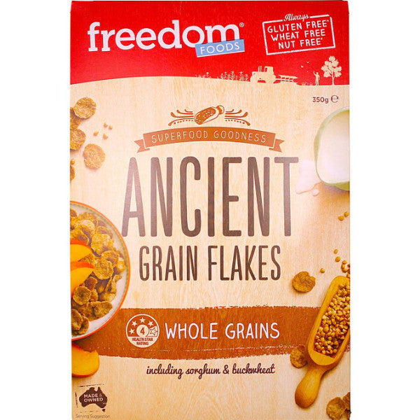 Ancient Grain Flakes w/ Sorghum & Buckwheat (350g)