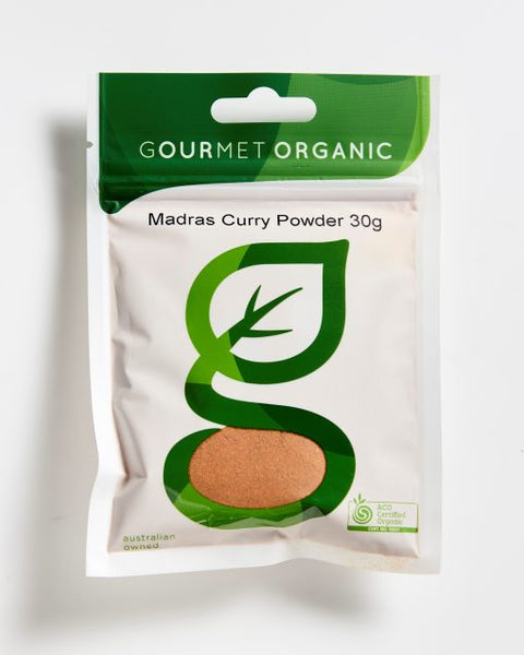 Gourmet Organic Madras Curry Powder (30g)