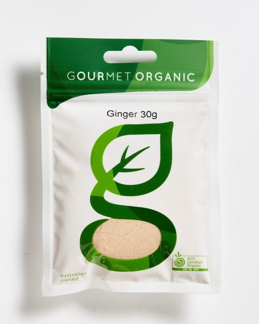 Gourmet Organic Ginger Ground Organic (40g)