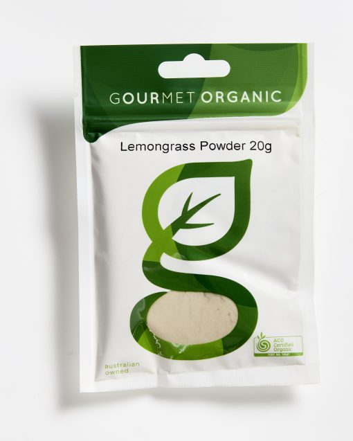 Gourmet Organic Lemongrass Powder (20g)