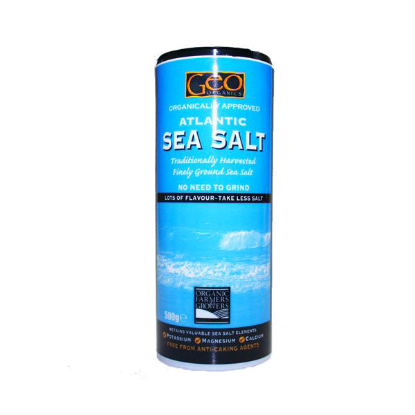 Geo Organics Atlantic Sea Salt Fine
