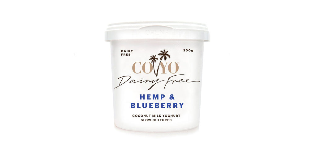 Hemp & Blueberry Yoghurt (125g)