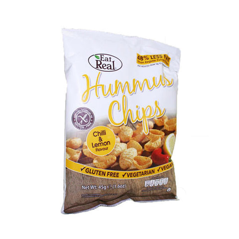 Eat Real Hummus Chilli & Lemon Chips