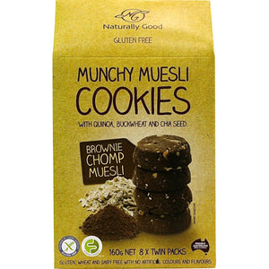 Munchy Muesli Cookies Brownie Chomp (160g)