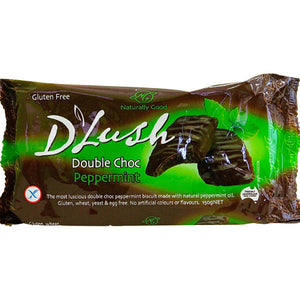 D'Lush Double Choc Peppermint Biscuits (150g)