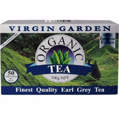 Organic Earl Grey Tea Bags (Box 50's)