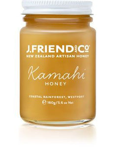 J. Friends & Co - Kamahi Honey (160g)