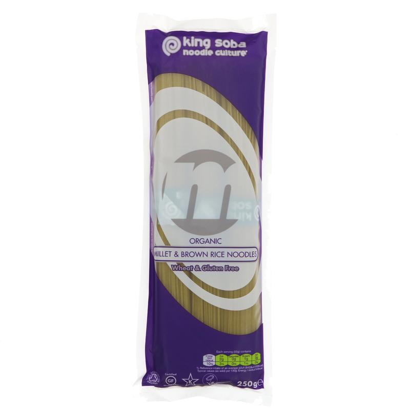 Organic Millet & Brown Rice Noodles (250g)