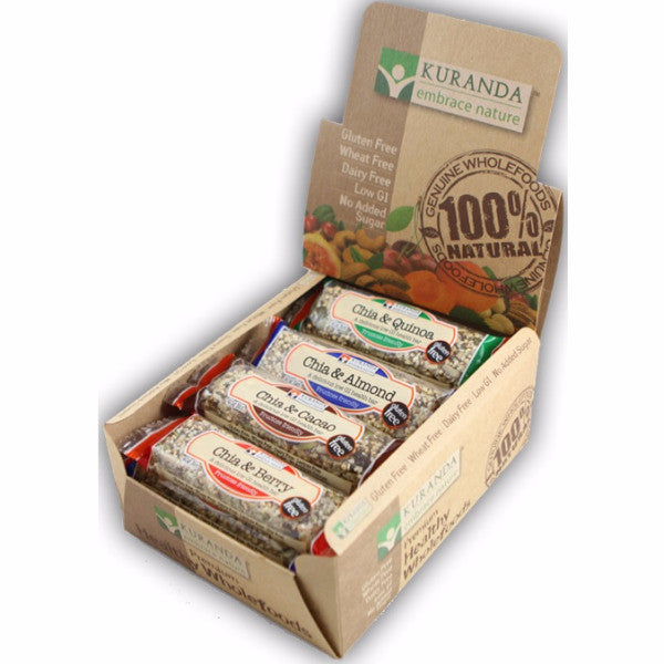 Assorted Chia Bars - Chia and Quinoa (Fruit and Nut Free) (40g)