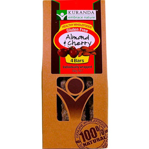 Kuranda Bars - Almond and Cherry (Pack of 4) (160g)