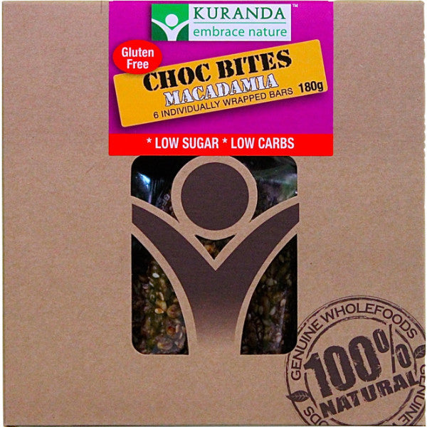 Choc Bites - Macadamia (Pack of 6) 180g