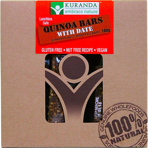 Quinoa And Date (Nut Free) (Pack of 6) (180g)