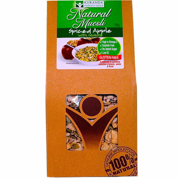 Muesli - Spiced Apple w/ Quinoa (500g)