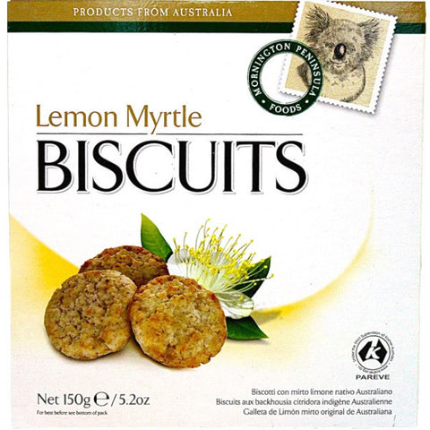Lemon Myrtle Biscuits (150g)