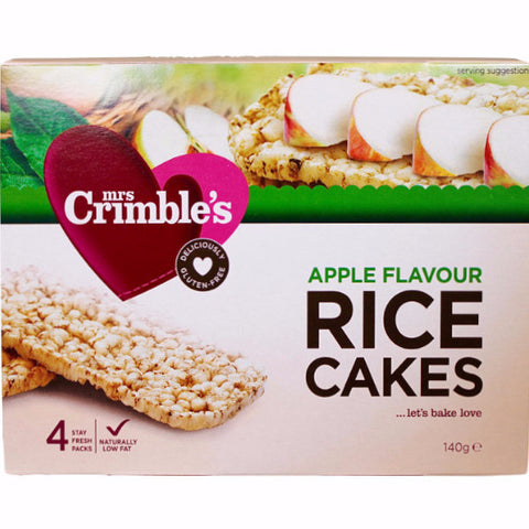 Apple Flavour Rice Cakes (140g)