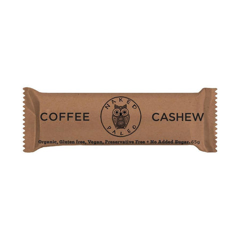 Naked Paleo Coffee Cashew (65g)