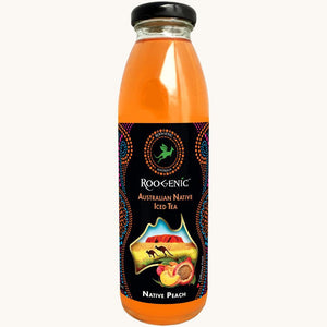 Roogenic Native Peach (Super Booster) Iced Tea