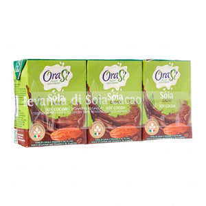 Orasi Cocoa Soya Drink (3 x 200ml)