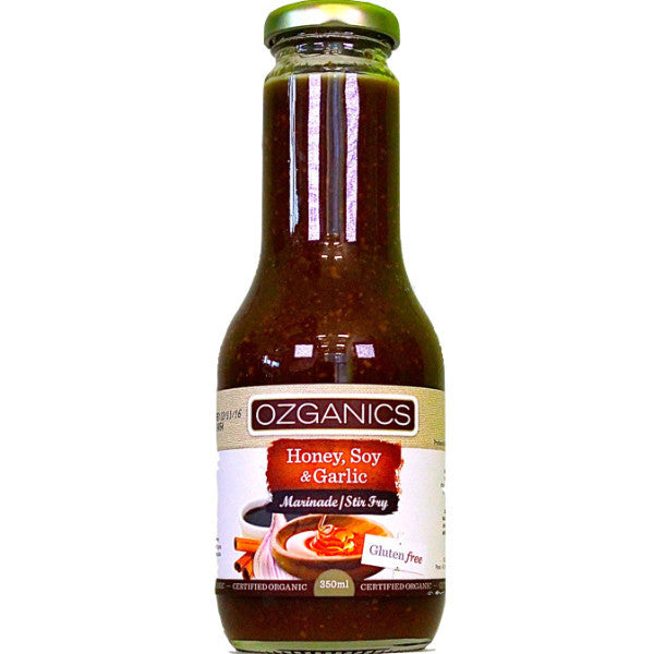 Ozganics Marinade / Stir Fry - Honey, Soy & Garlic 350g