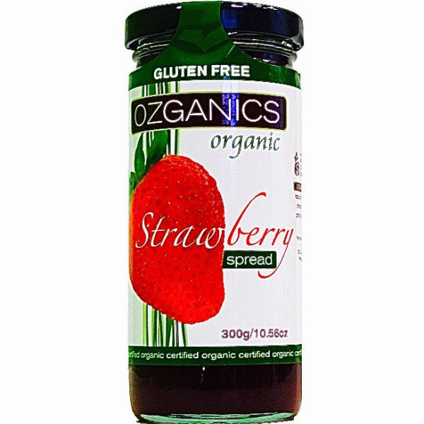Ozganics Strawberry Spread 300g