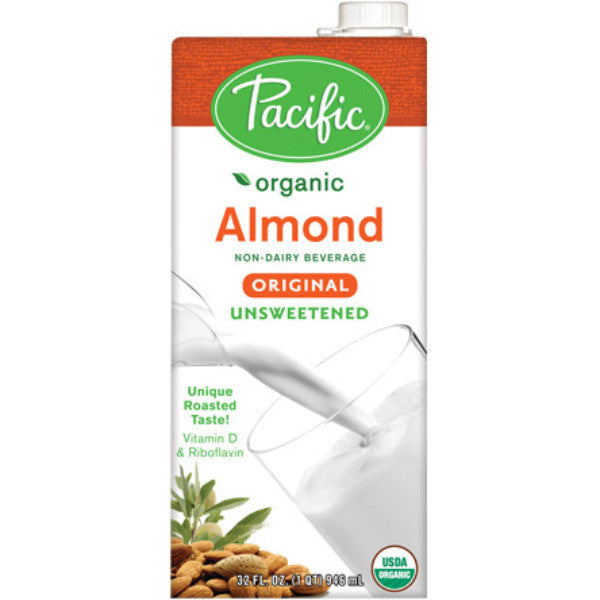 Pacific Foods Organic Almond Beverage - Unsweetened 946ml