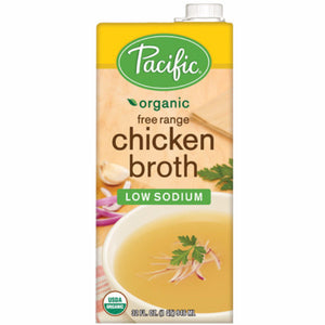 Organic Low Sodium Chicken Broth (948ml)
