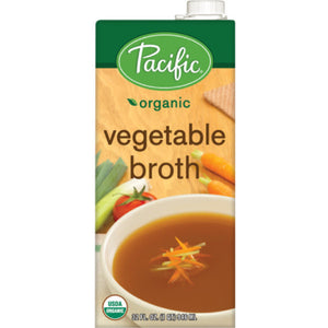 Organic Vegetable Broth (946ml)