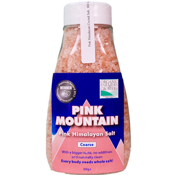 Pink Mountain Himalayan Coarse Salt 300g