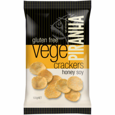 Crackers - Honey Soy (100g)