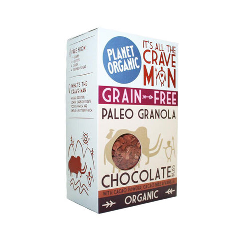 Chocolate Bliss Paleo Granola (350g)