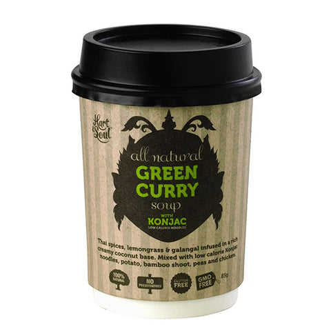 All Natural Green Curry Soup (85g)