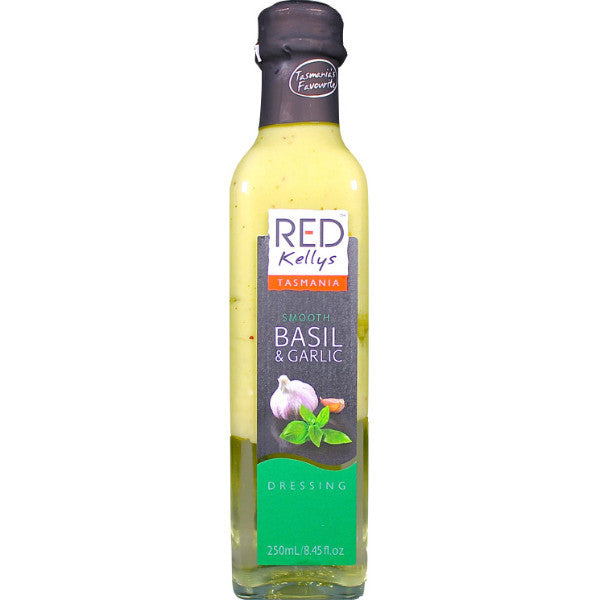 Red Kellys Tasmania Basil & Garlic - 250 ml
